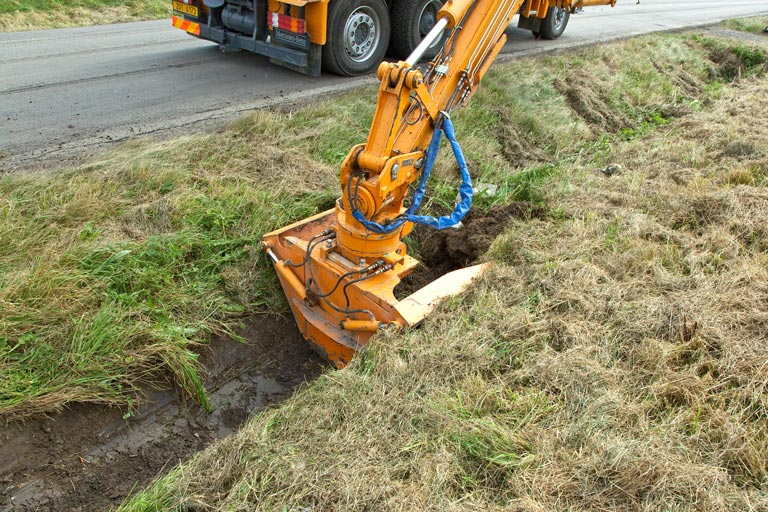 Mulag Ditch Cleaning