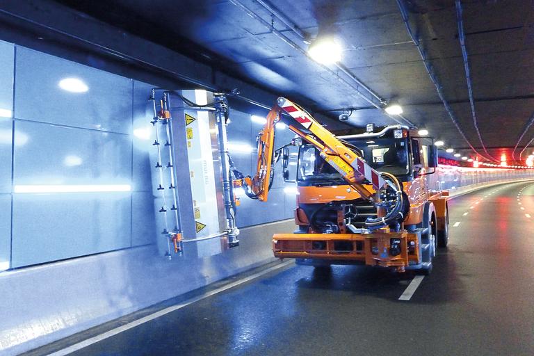 Mulag Tunnel Washing